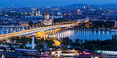 Tagen Sie standesgemäss in der Bundeshauptstadt von Österreich Wien