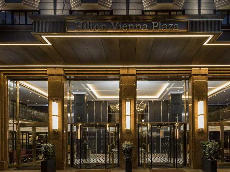 Hilton Vienna Plaza Tagungshotel in Wien anfragen und buchen