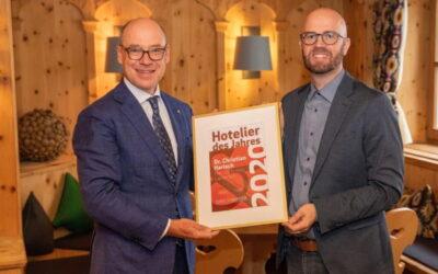 Christian Harisch: Hotelier des Jahres 2020 in Österreich